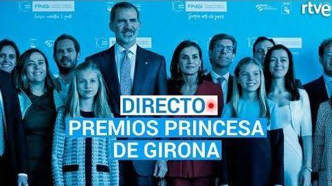 Premios Princesa de Girona 2019, en directo: sigue en 'streaming' la ceremonia de entrega en Barcelona