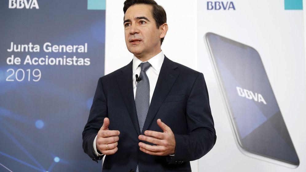 Foto: El presidente del BBVA, Carlos Torres. (EFE)