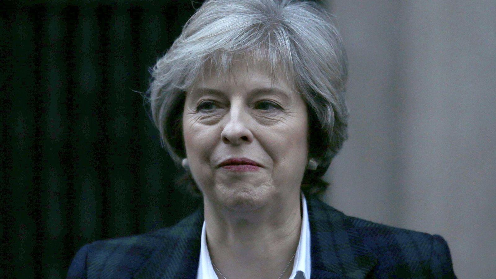 Foto: Theresa May, primera ministra británica (Reuters)