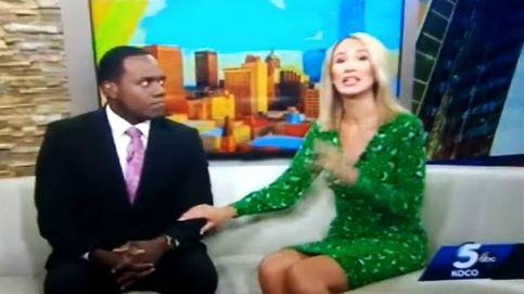 Una presentadora se disculpa llorando tras llamar gorila a su compañero negro