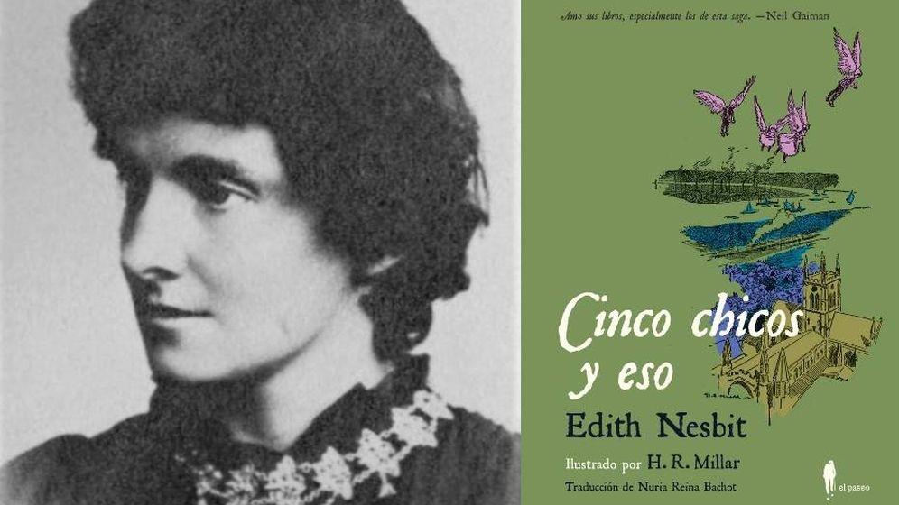 Foto: Se reedita el clásico de literatura infantil 'Cinco chicos y eso' de E. Nesbit.