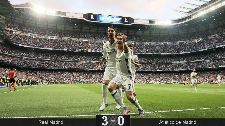 Foto: Segundo hat-trick europeo consecutivo de Cristiano. (Reuters)