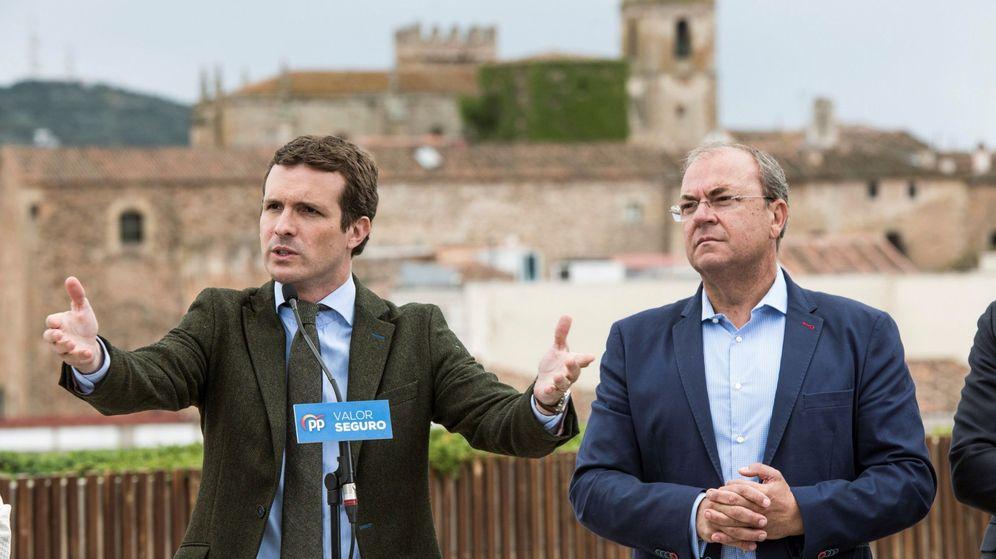 Foto: El presidente de los populares extremeños y candidato a la Presidencia de la Junta de Extremadura, José Antonio Monago (Efe)