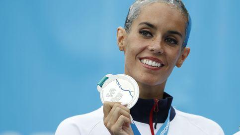 Ona Carbonell se cuelga una medalla de  plata en el Mundial de Budapest