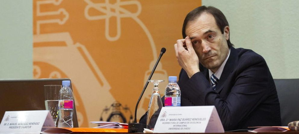 Foto: Manuel menéndez, presidente de Liberbank