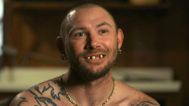 John Finlay, uno de los maridos de Joe Exotic, estereotipo de 'white trash'. (Netflix)