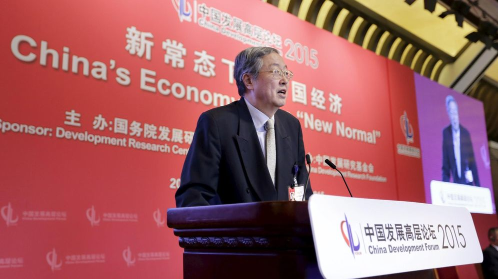 Foto: El gobernador del banco central chino, Zhou Xiaochuan