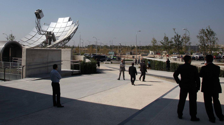 Sede de Abengoa en Sevilla. (Fernando Ruso)
