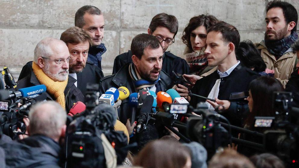 Bélgica unifica la tramitación de las euroórdenes de Comín, Puig y Puigdemont