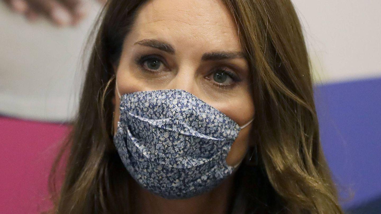El maquillaje actual de Kate Middleton enmarca menos la mirada. (Cordon Press)