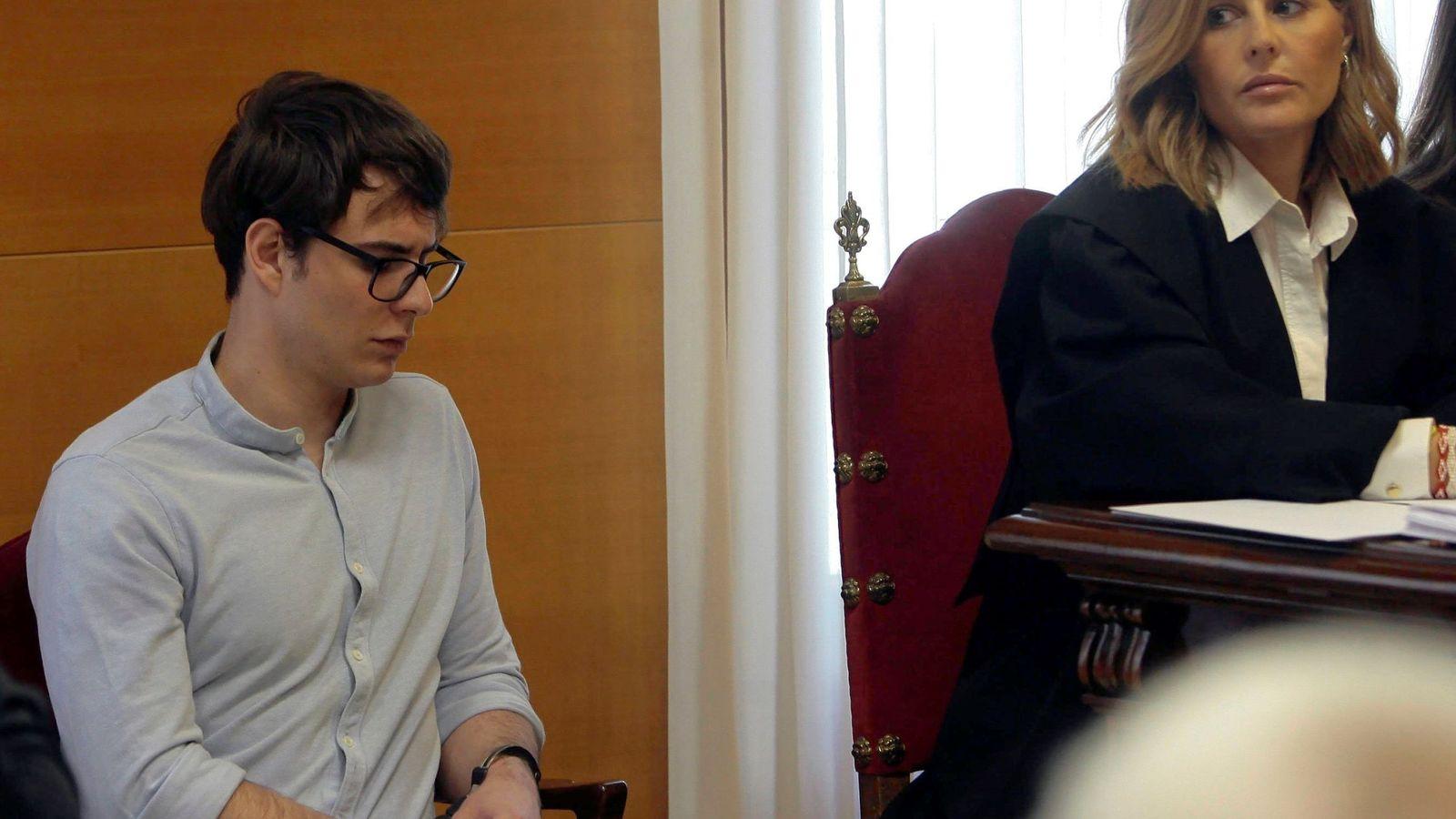 Foto: Patrick Nogueira, en el juicio. (EFE)