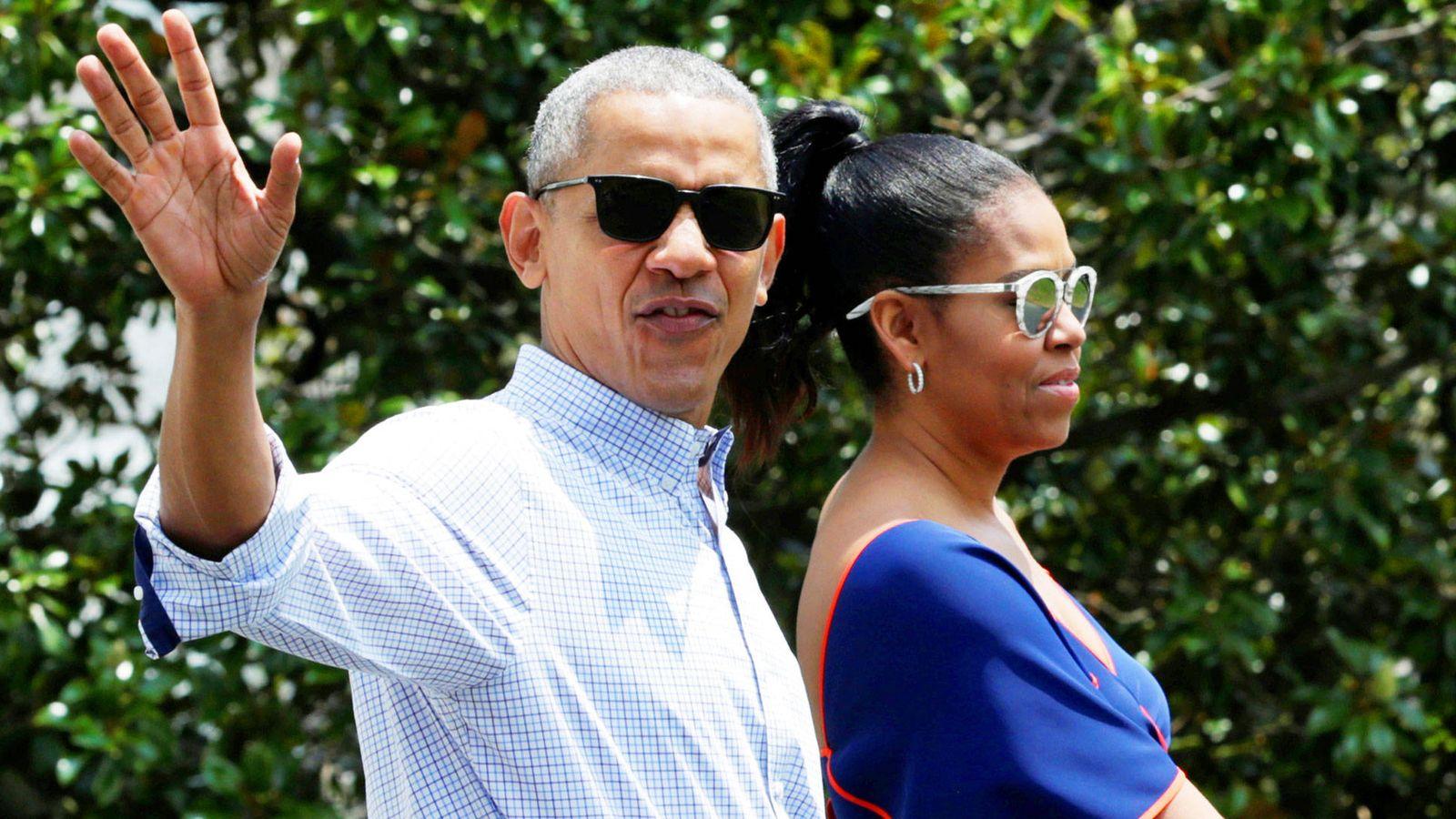 Foto: Michelle y Barack Obama. (Getty)