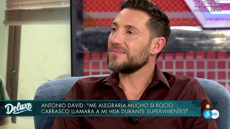 Antonio David Flores, en 'Sábado Deluxe'. (Mediaset España)