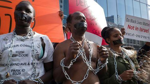 Refugiados eritreos protestan contra la deportación