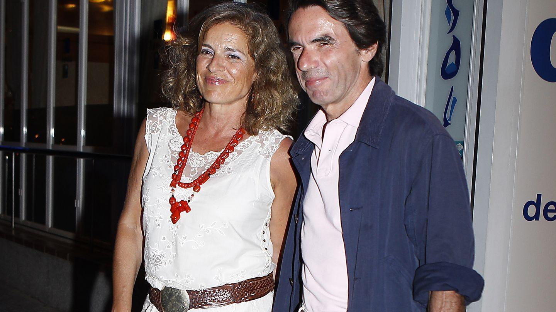José María Aznar y Ana Botella en una imagen de archivo (Gtres)