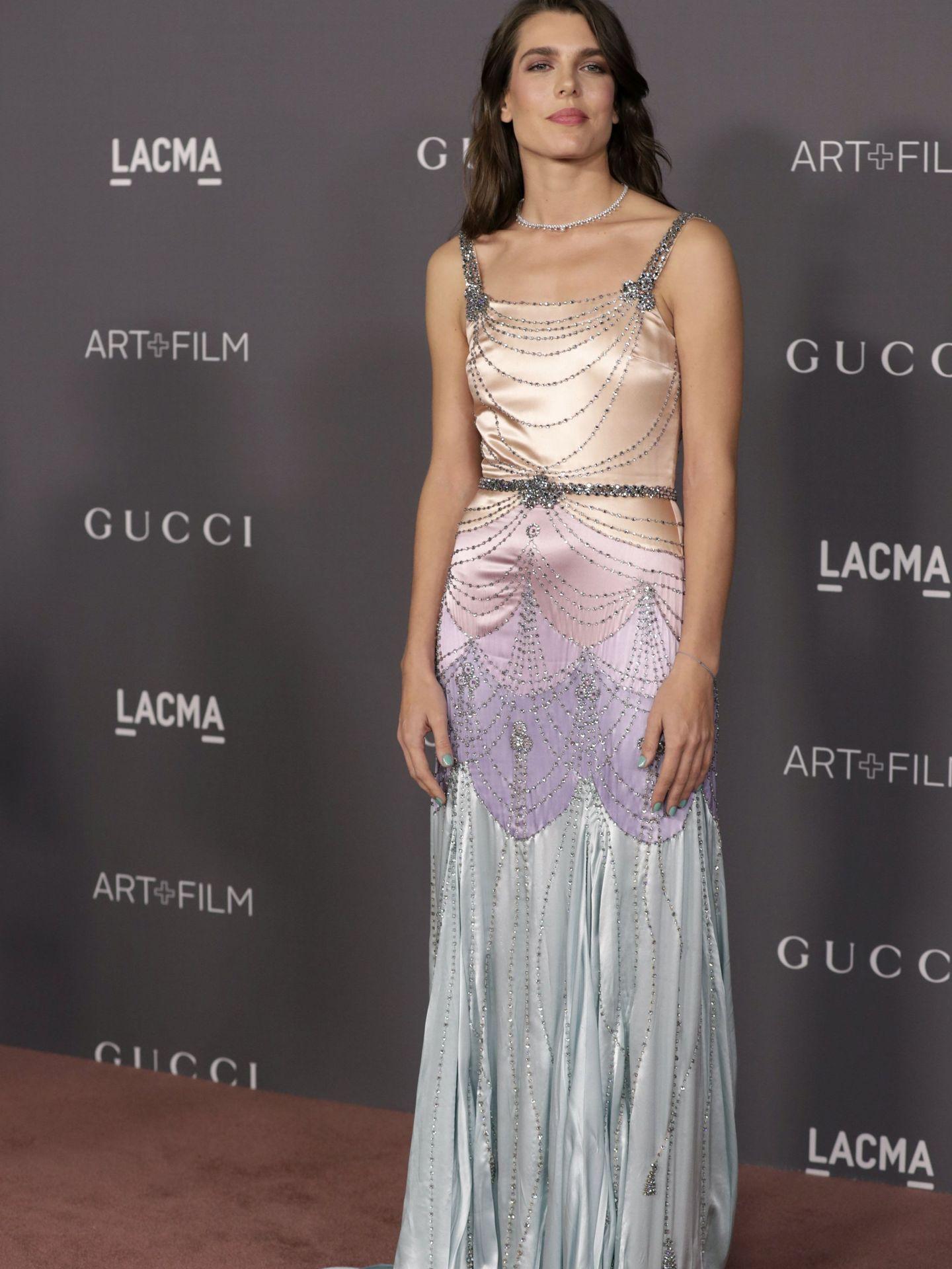 Carlota Casiraghi en la LACMA Art + Film Gala. (Getty)