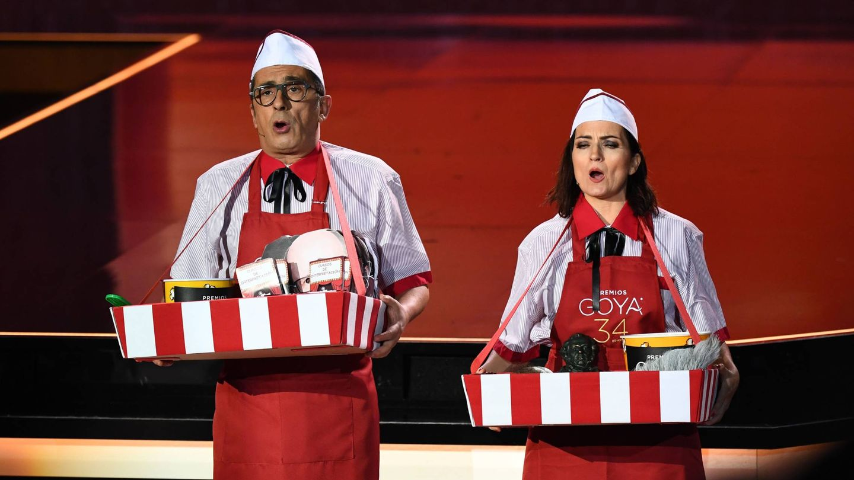 Los presentadores de la gala. (Tve)