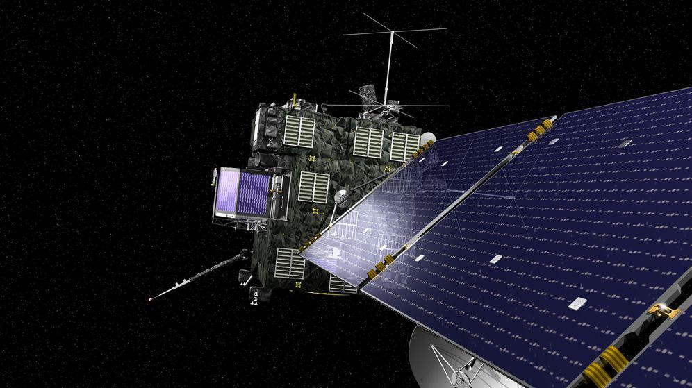Foto: La misión Rosetta confía en que Philae se active en las próximas semanas