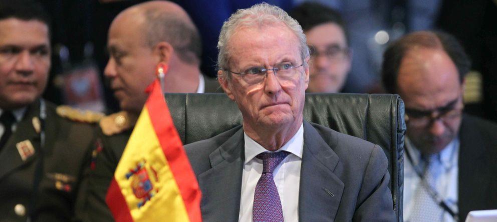 Foto: El ministro de Defensa de España, Pedro Morenés (EFE)