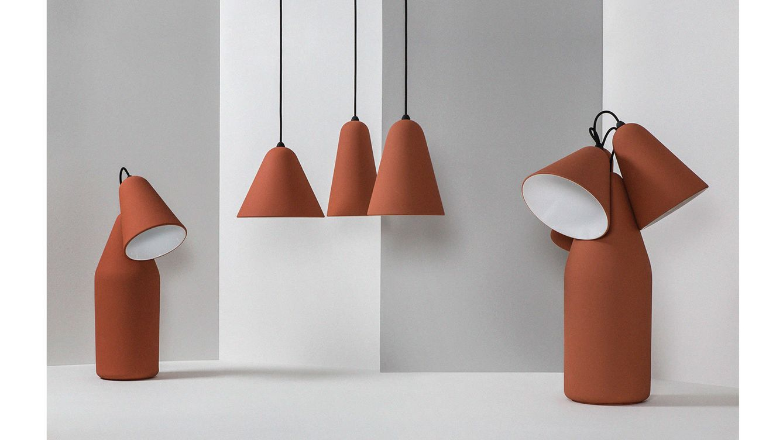 Foto: Lámparas de Thomas Kral para PCM.