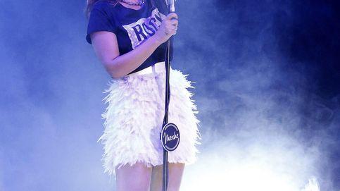 La cantante Merche, desolada por la muerte de su padre