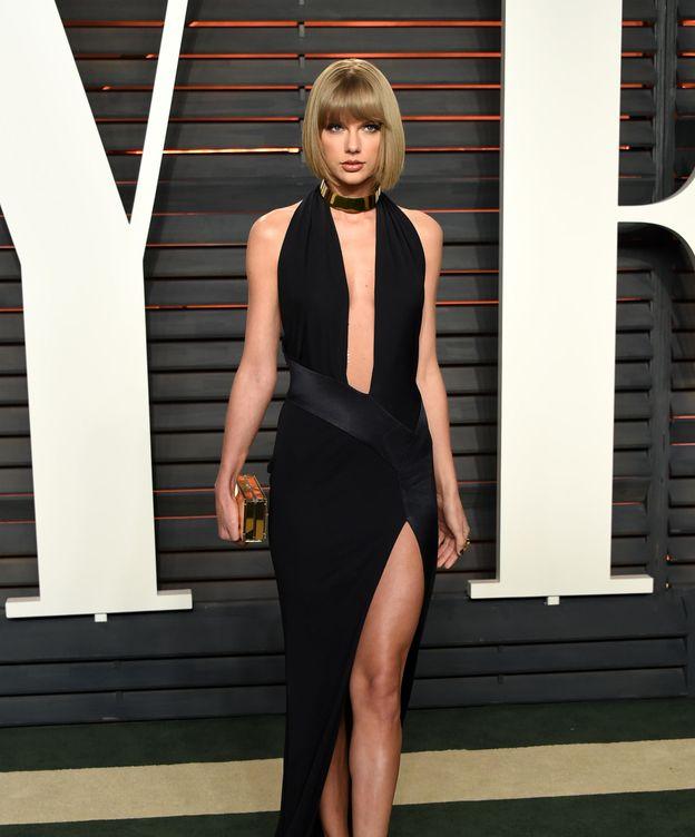 Foto: Taylor Swift en la noche de los Oscar (Gtres)