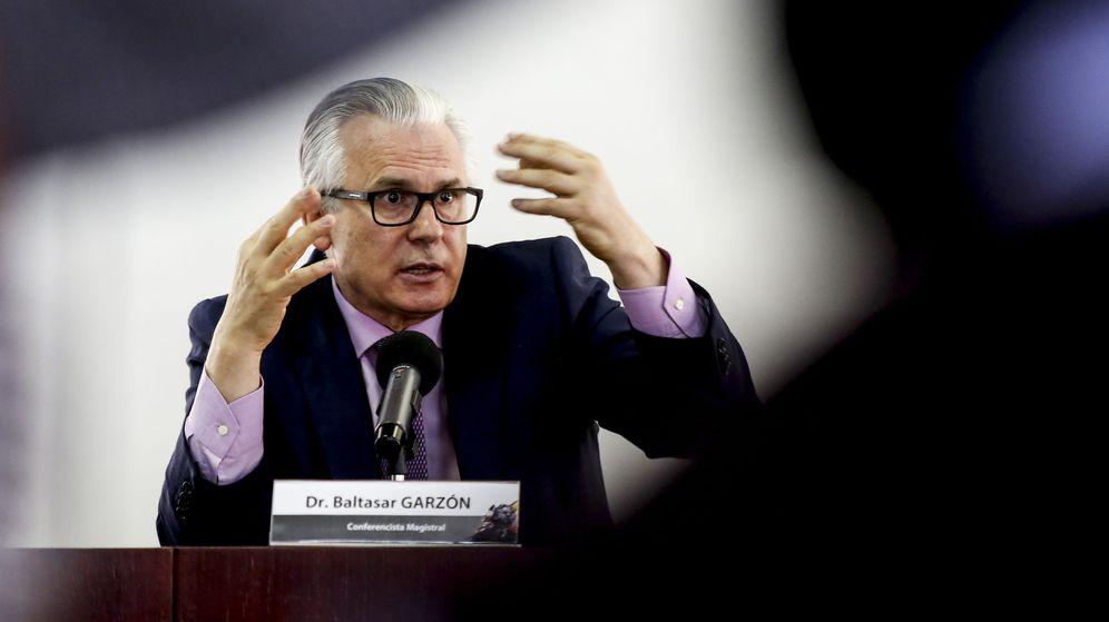 Foto: El exjuez Baltasar Garzón. (EFE)