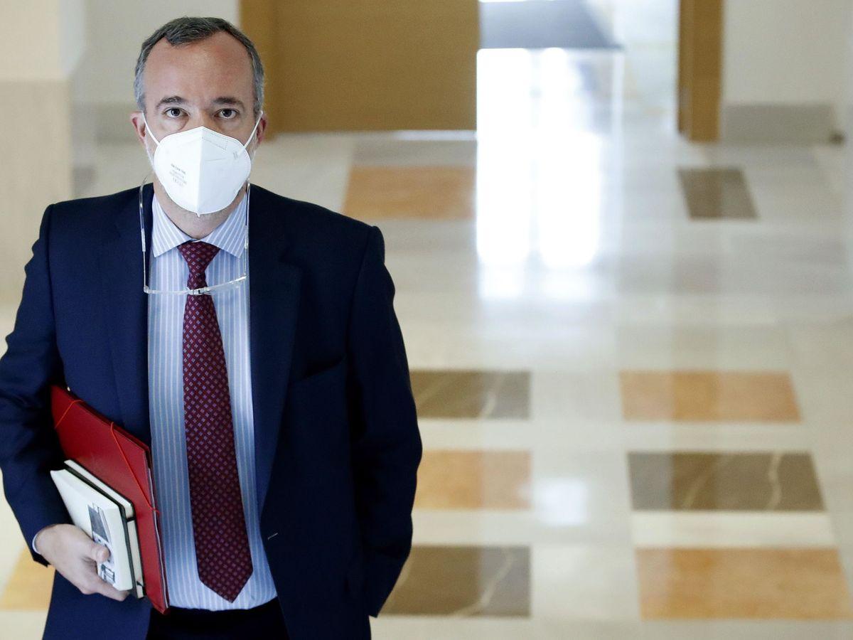 Foto: Comparecencia de Francisco Martínez. (EFE)