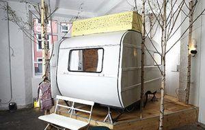 Un camping urbano en pleno centro de Berlín