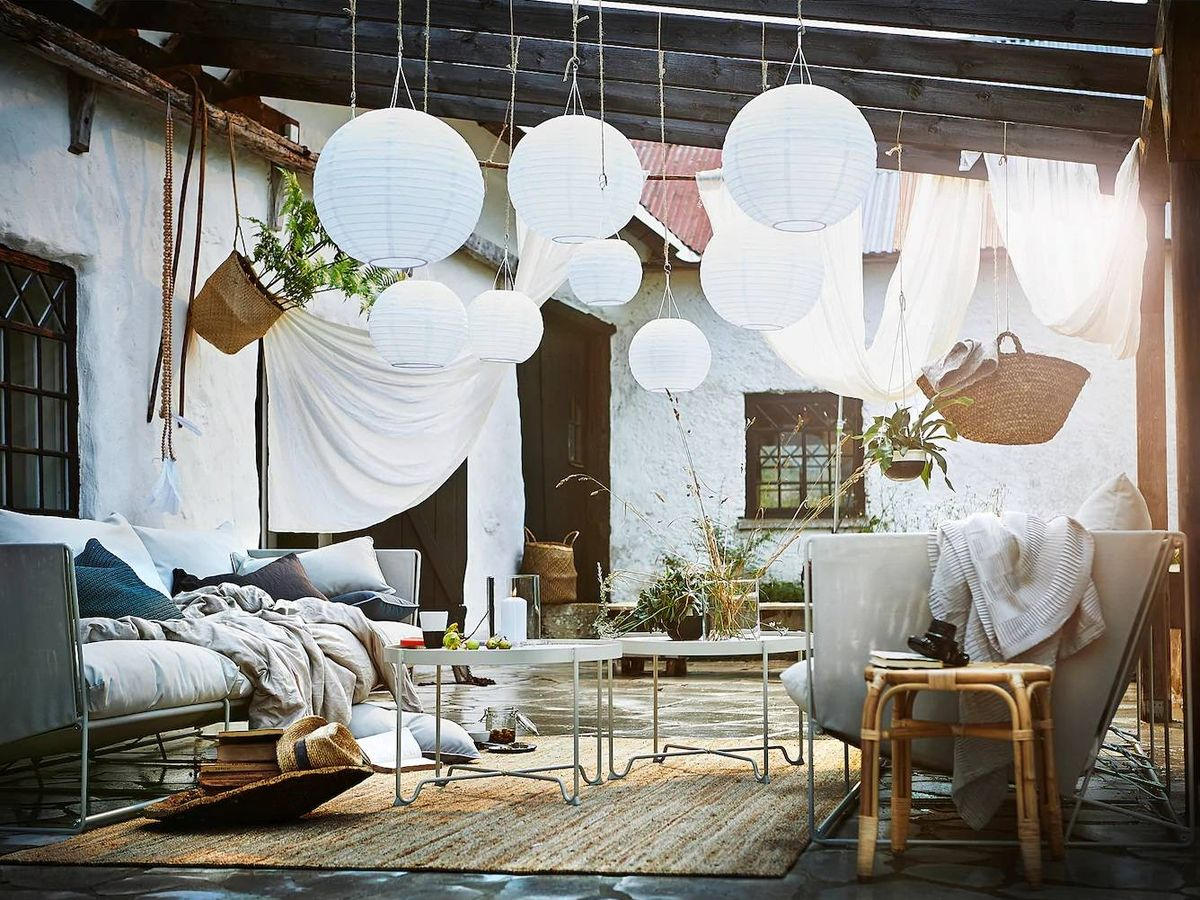 Foto: Farolillos de Ikea. (Cortesía)