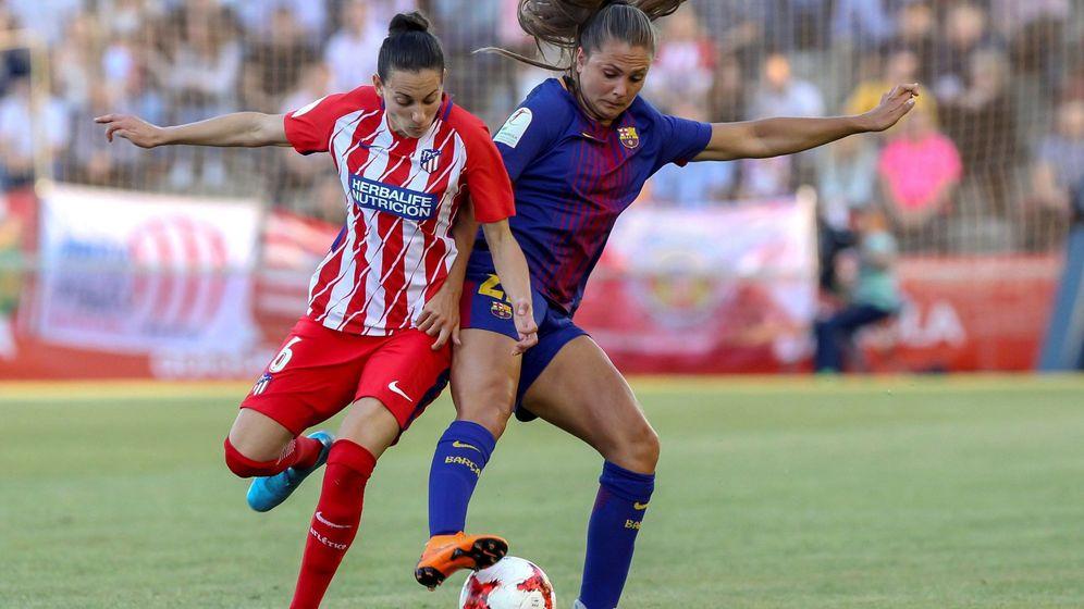 Foto: El Atlético de Madrid y el FC Barcelona son los dos mejores equipos españoles en la actualidad. (EFE)