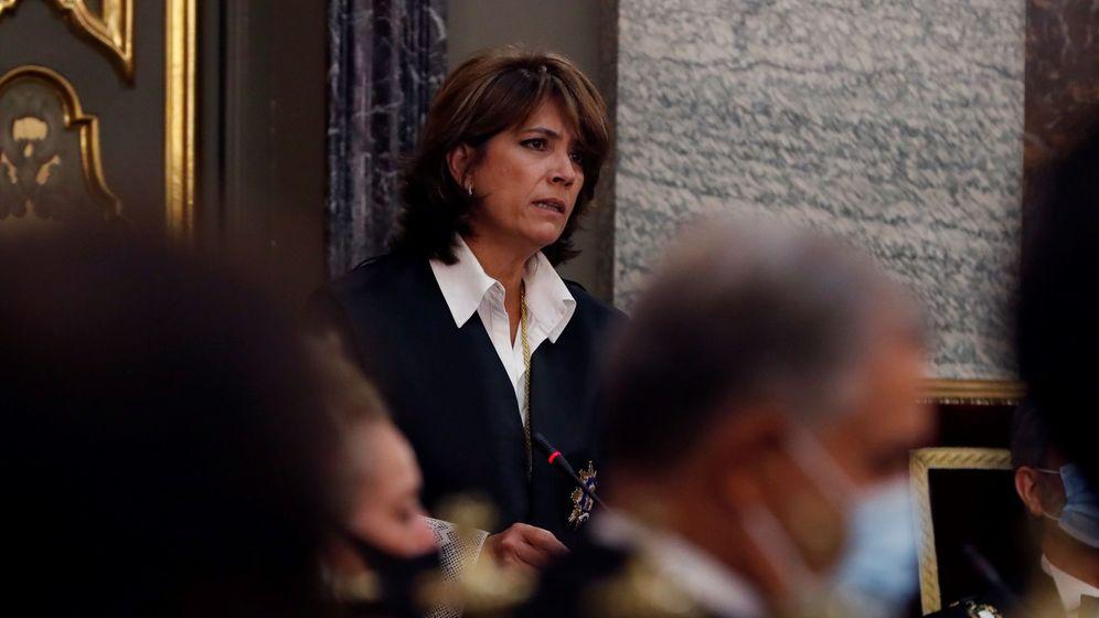 Foto: La fiscal general Dolores Delgado en la apertura del año judicial. (EFE)