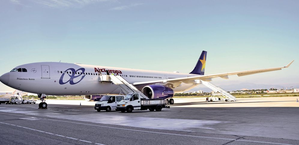 Foto: Airbus 330-300 de Air Europa, cliente de Accelya. (EFE)
