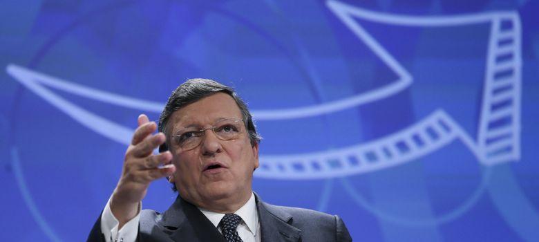 Foto: El presidente de la Comisión Europea (CE), José Manuel Durao Barroso (Efe)