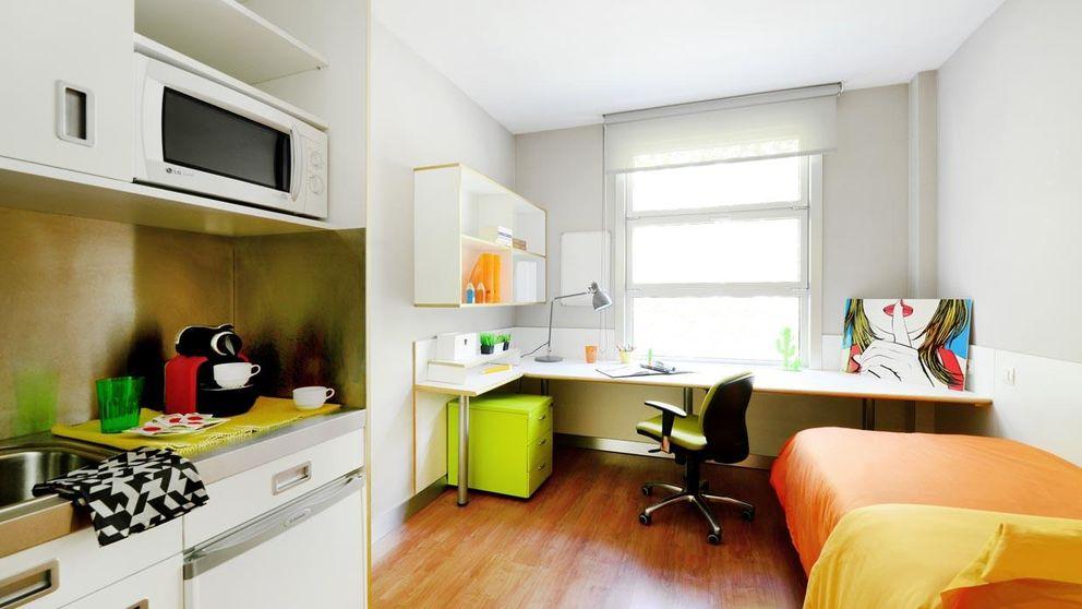 Oaktree pone a la venta sus residencias de estudiantes en Madrid y Barcelona
