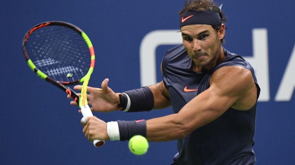Foto: Nadal, en un partido del US Open.