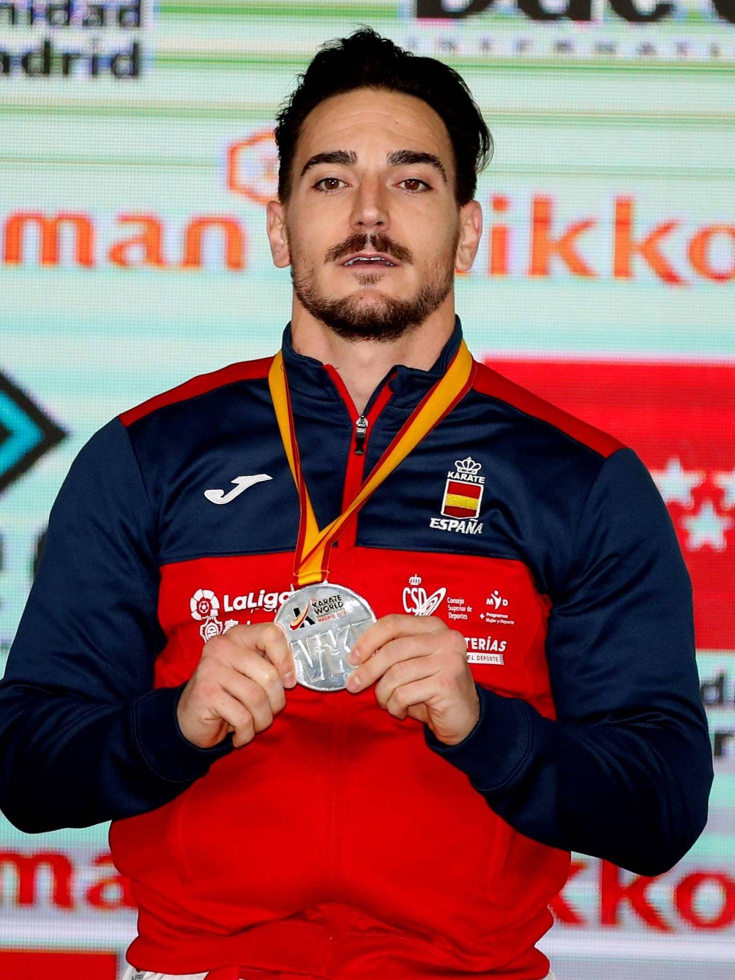 Damián Quintero ganó la plata en kata. (EFE)