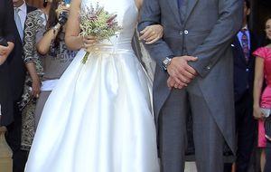 La discreta boda de Leire Martínez, la cantante de La Oreja