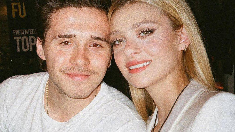 Brooklyn Beckham y Nicola Peltz. (Instagram, @nicolapeltz)