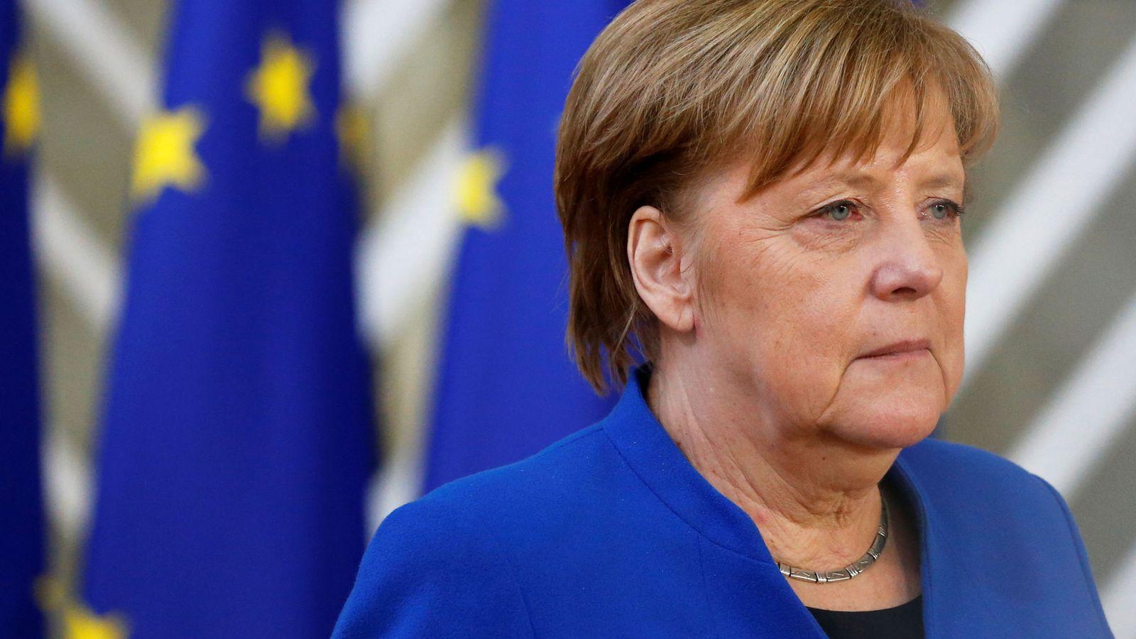 Foto: Angela Merkel, este 10 de abril en Bruselas. (Reuters)