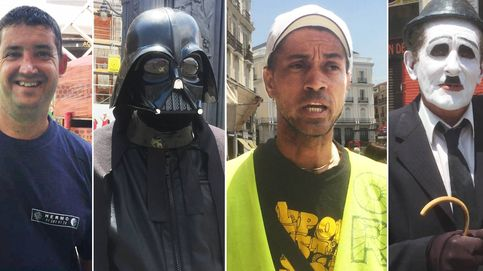 Trabajar en Sol, a 40 grados y vestido de Darth Vader: Esto es insoportable