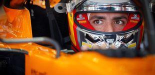 Post de La felicidad de Carlos Sainz por su remontada al volante de su mejor coche
