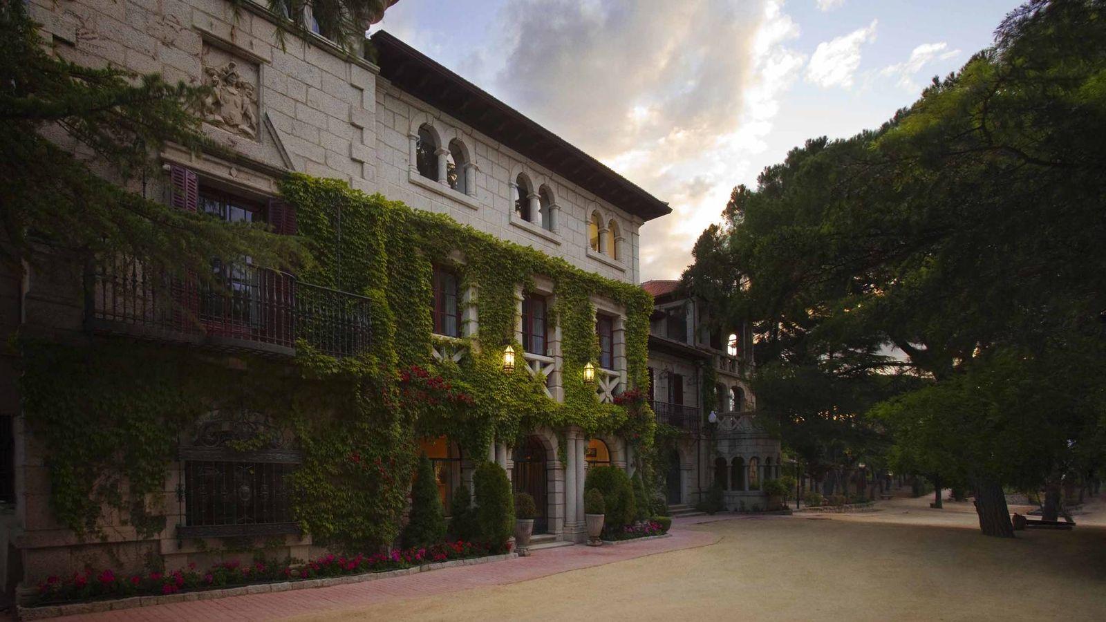 Foto: Uno de los edificios del campus de La Berzosa de la Universidad Antonio de Nebrija.