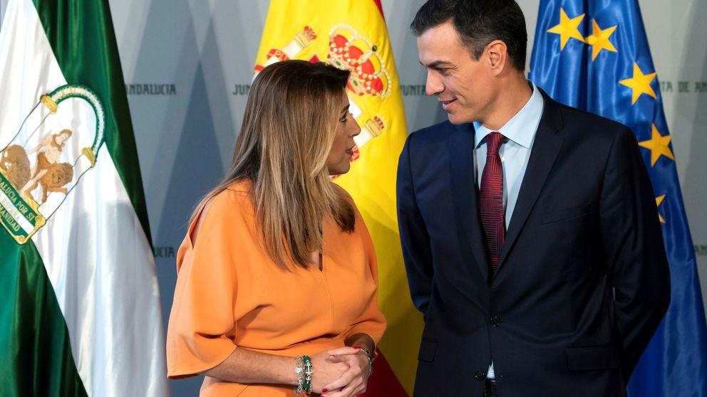 Ferraz le mueve la silla a Susana Díaz