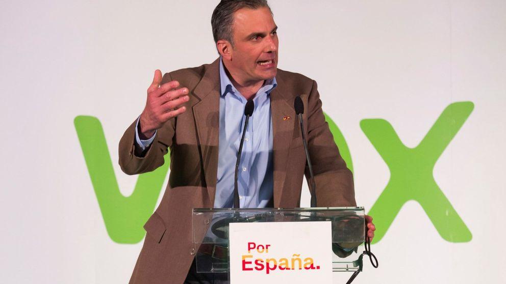 Ortega Smith asegura que con la 'victoria histórica' de Vox temblará el mundo entero