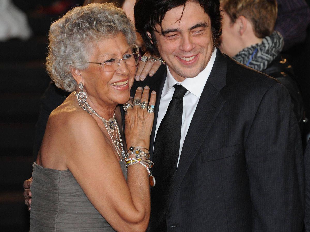 Foto: Pilar Bardem y Benicio del Toro en los Goya. (Getty)