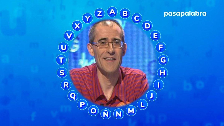 Emilio Maestro, concursante de 'Pasapalabra' en Telecinco. (ECTV)