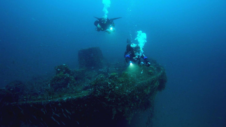 Imagen de uno de los naufragios. (Zona Mixta)