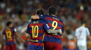 El 'gordo' que se puso a la cola de los admiradores de Messi