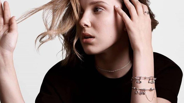 Millie Bobby Brown ('Stranger Things') presenta las joyas de la generación Z